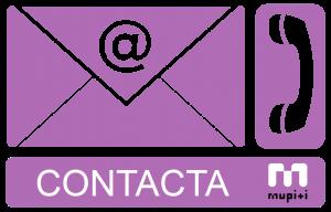Banner contacta morado