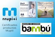 Certificados fiscales de los productos PPA, Bambú y Mupiti Profesional a 31/12/2016