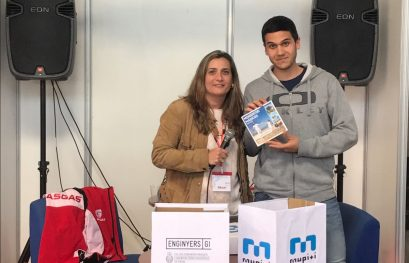 Mupiti y el CETIG juntos en el Fórum de la universidad de Girona.
