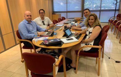 Reunión entre MUPITI y el COITI Alicante