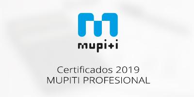 CERTIFICADOS DE ESTADO A 30/06/2019 DEL PRODUCTO MUPITI PROFESIONAL
